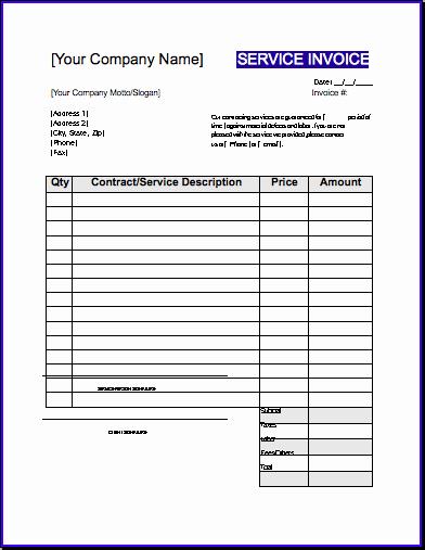 Free Contractor Invoice Template Luxury Contractor Invoice Template Uk