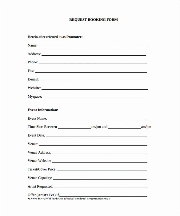 Free Dj Contract Template Awesome Dj Contract