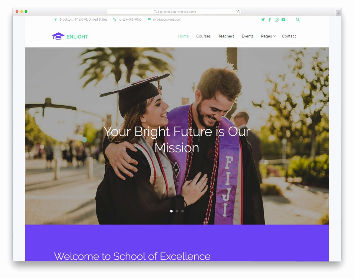 Free Education Website Template Awesome 21 Best Free Education Website Templates with Premium