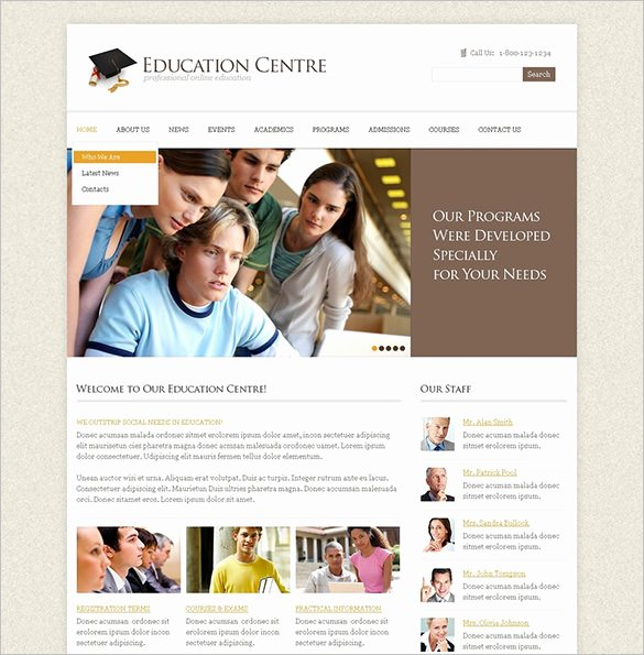 Free Education Website Template Awesome 21 Education HTML5 themes & Templates