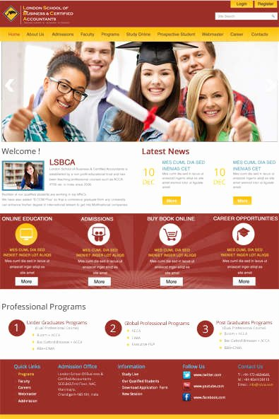 Free Education Website Template Beautiful 40 Free HTML Css Education Website Templates Xdesigns