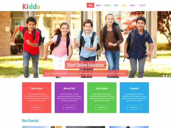 Free Education Website Template Best Of Free Education Template Templates Station