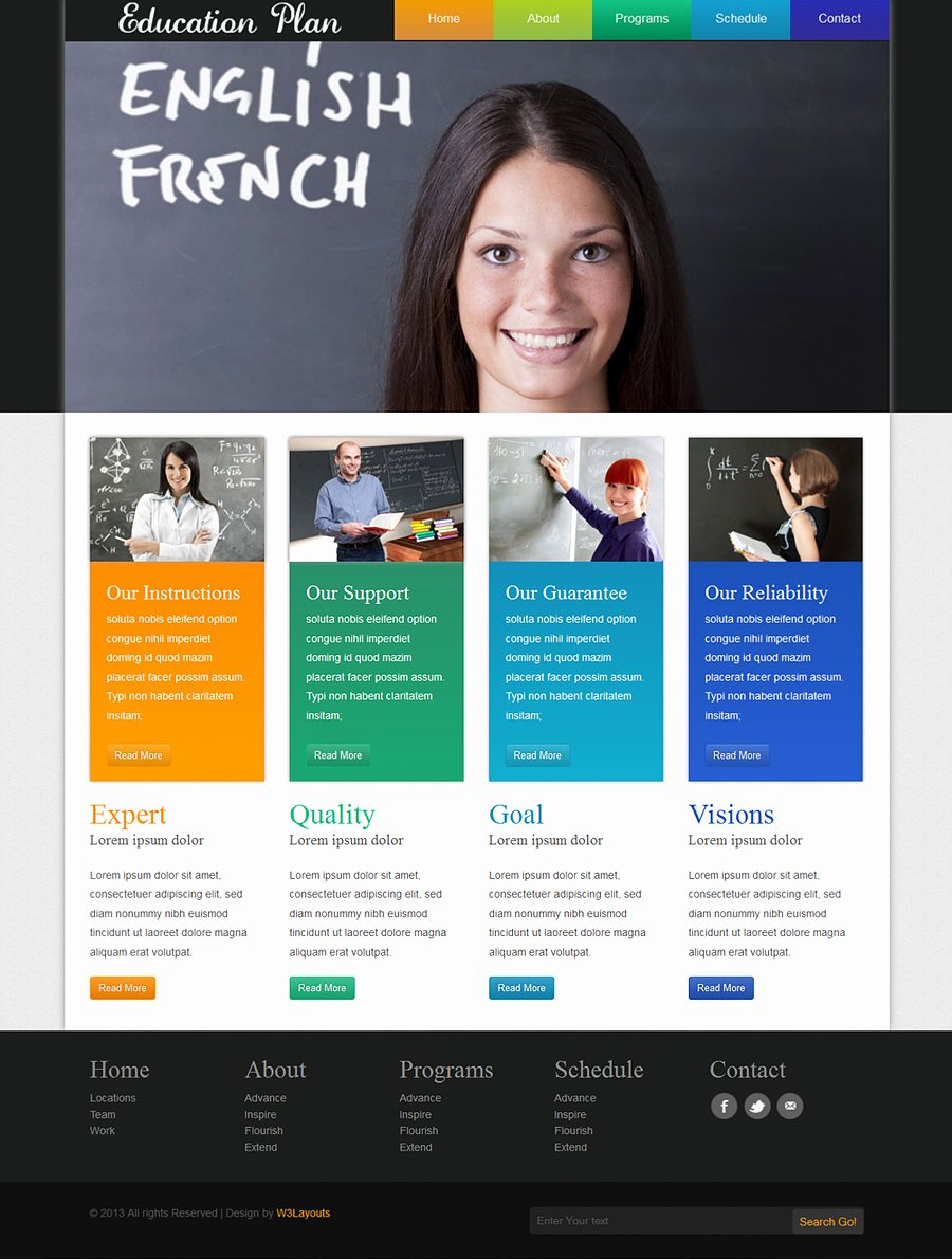 Free Education Website Template Elegant 20 Best Free Educational Templates and themes