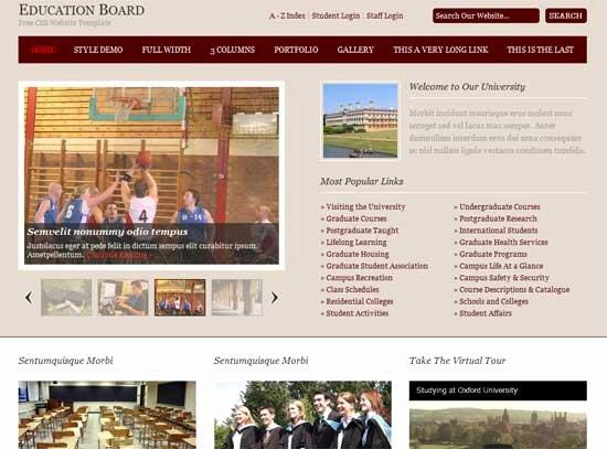 Free Education Website Template Elegant 90 Best Education Website Templates Free & Premium