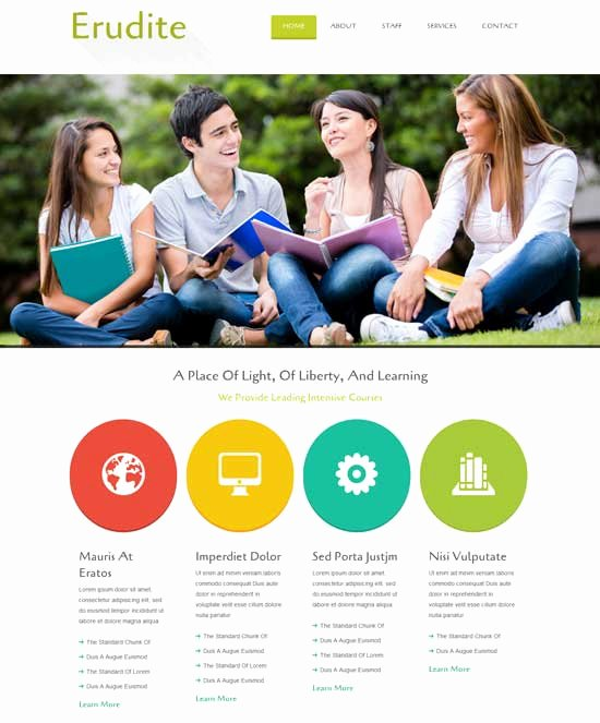 Free Education Website Template Fresh 70 Best Education Website Templates Free & Premium
