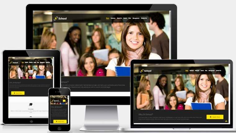 Free Education Website Template Fresh Educational Website Template Free Download Webthemez