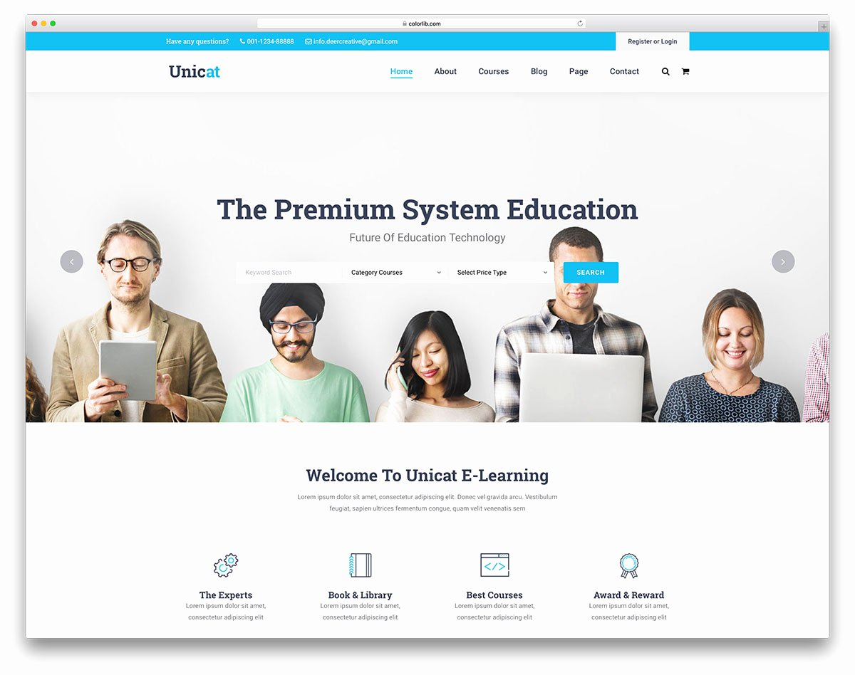 Free Education Website Template Inspirational 27 Best Free and Premium Education Website Templates 2019
