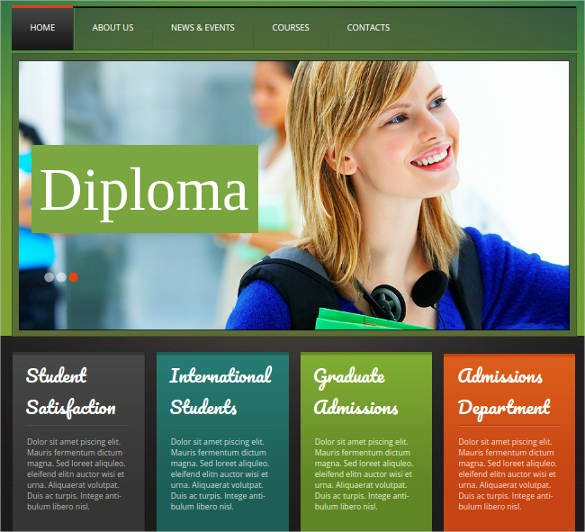Free Education Website Template Inspirational 41 College Website themes & Templates