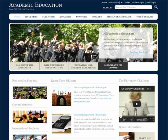 Free Education Website Template Inspirational 90 Best Education Website Templates Free & Premium