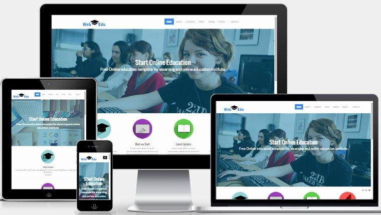 Free Education Website Template Luxury Latest Free Education Website Template