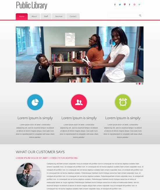 Free Education Website Template New 90 Best Education Website Templates Free & Premium