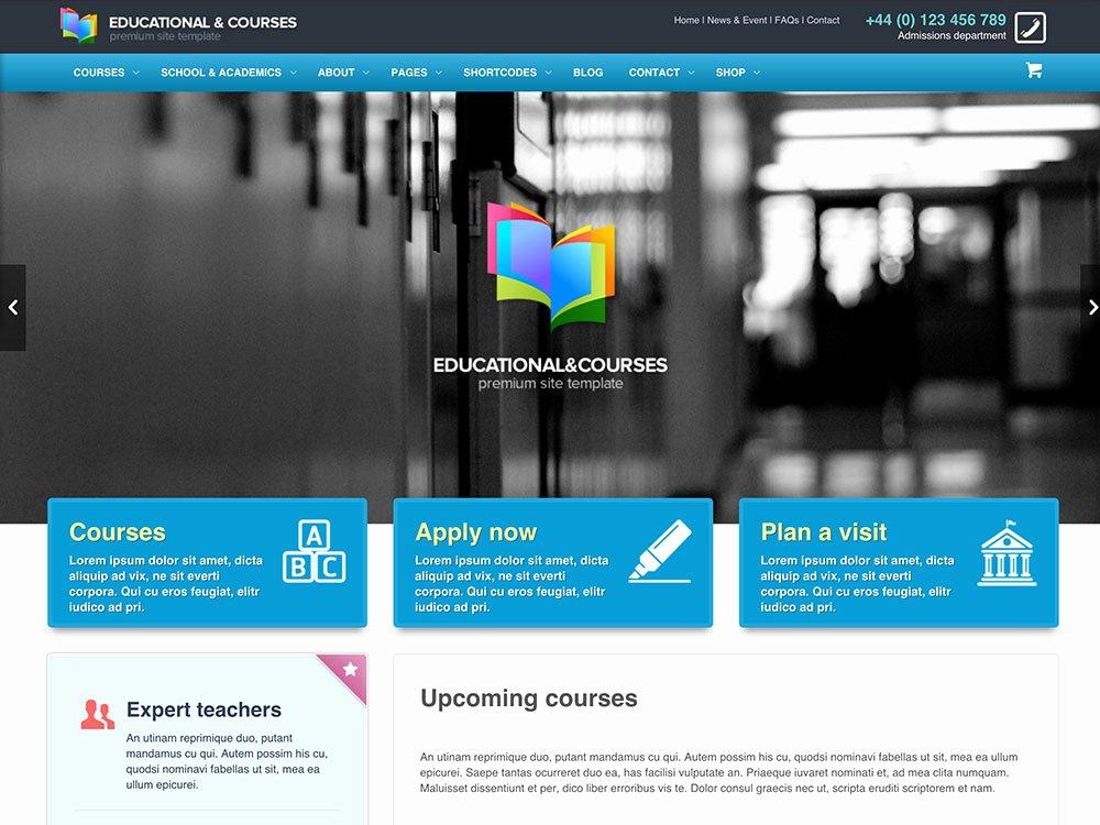 Free Educational Web Template Beautiful 30 Best Education Wordpress themes 2016 athemes