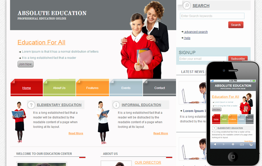 Free Educational Web Template Best Of 15 HTML5 and Css3 Website Templates Free Download 2014