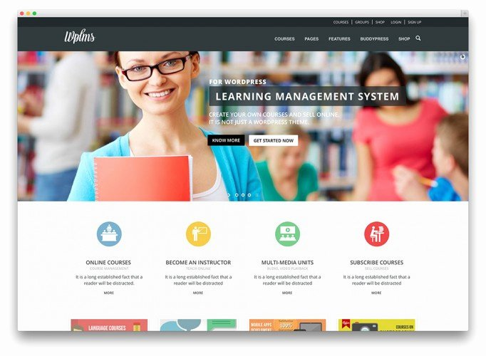 best premium and free education themes