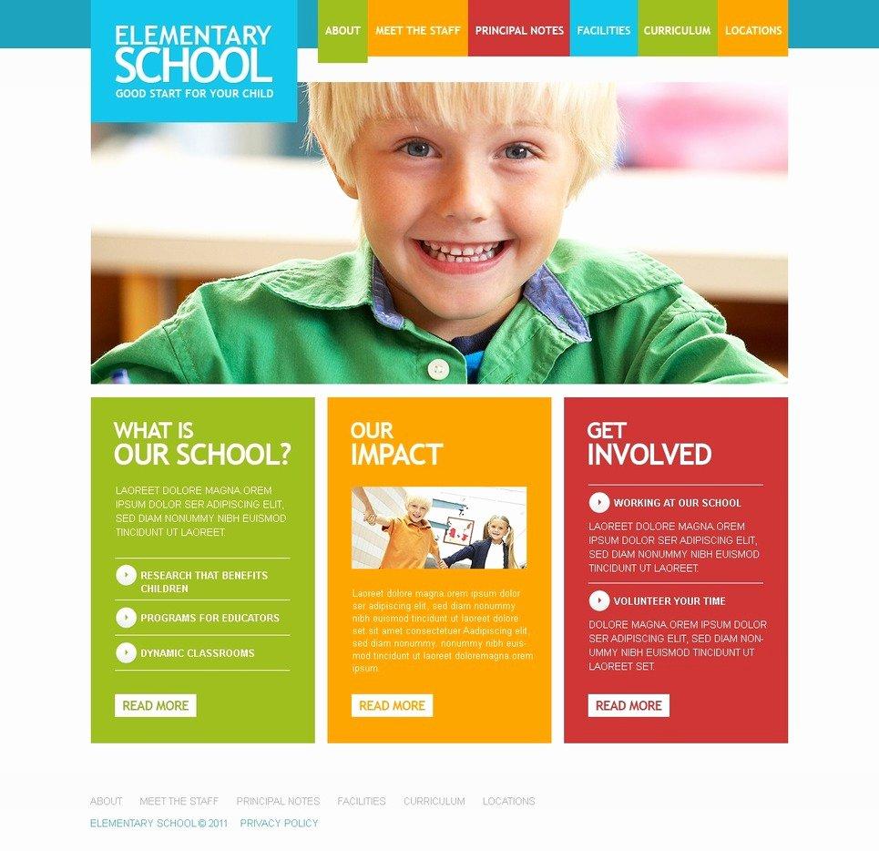 Free Educational Web Template Inspirational Education Joomla Template