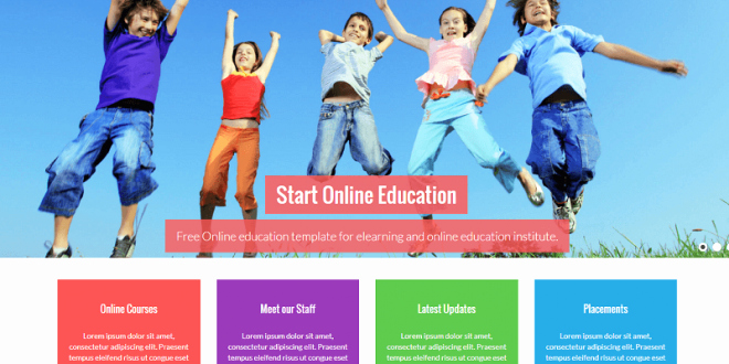 Free Educational Web Template Luxury 18 Best Free Education HTML Website Templates 2019
