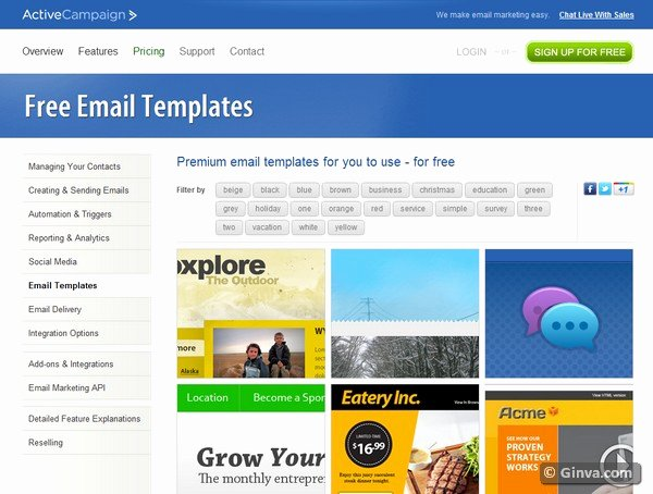 Free Email Template for Outlook Fresh 10 Excellent Websites for Downloading Free HTML Email