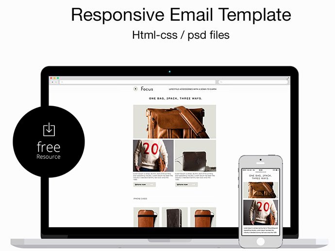 Free Email Template Psd Awesome 20 Best Responsive Email Templates Of 2015 Graffies