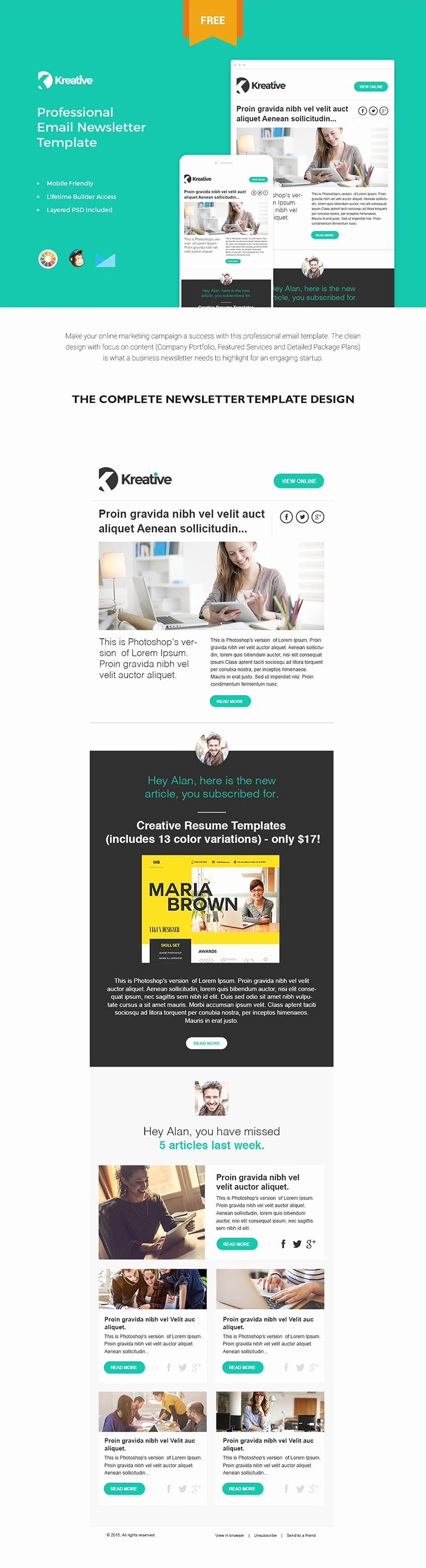Free Email Template Psd Beautiful Free Email Newsletter Templates Psd Css Author