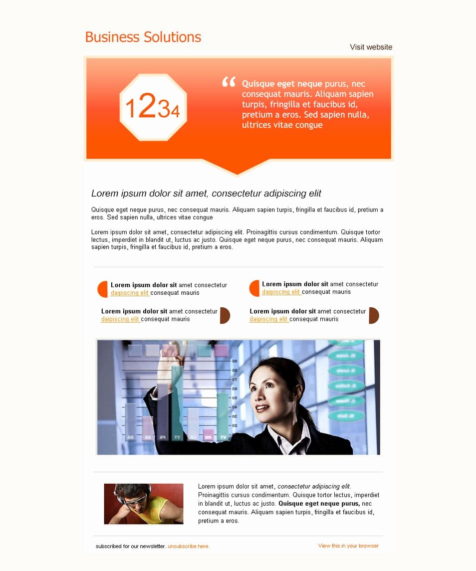 Free Email Template Psd Elegant Best Free Email Newsletter Design Templates Latest