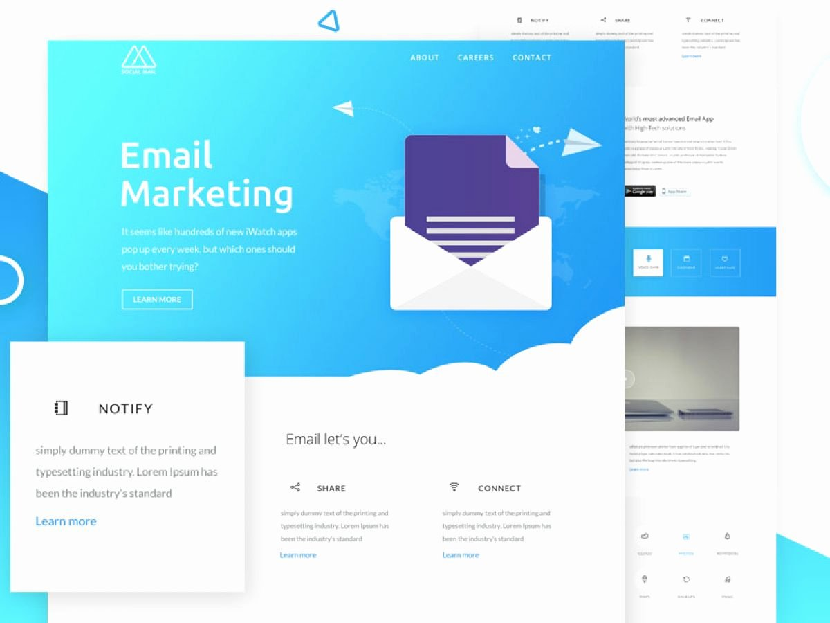 Free Email Template Psd Inspirational Free Email Newsletter Template Concept for Shop