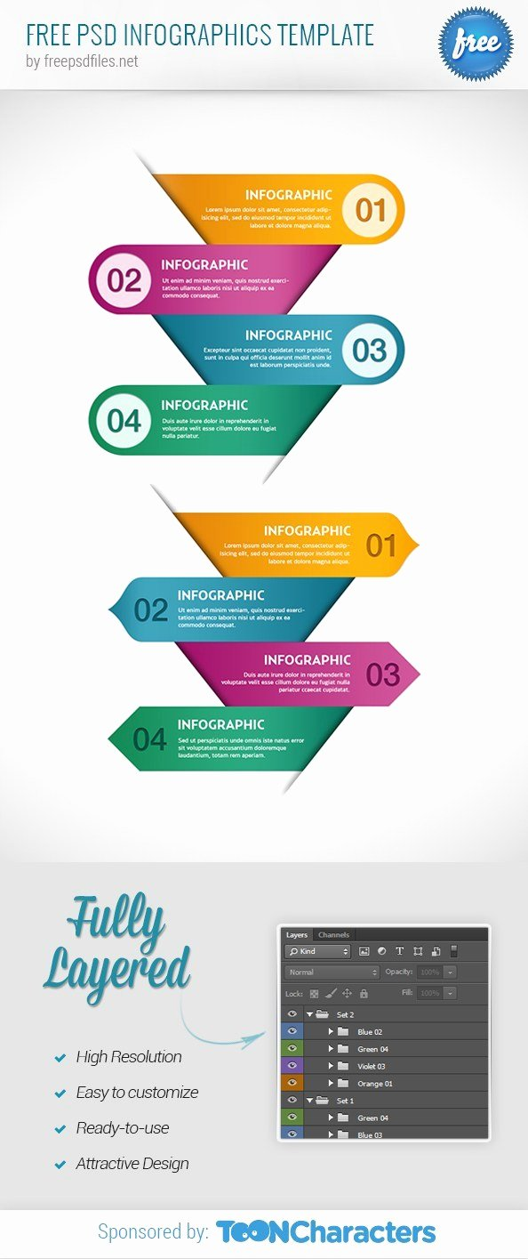 Free Email Template Psd Inspirational Free Psd Infographics Template Free Psd Files