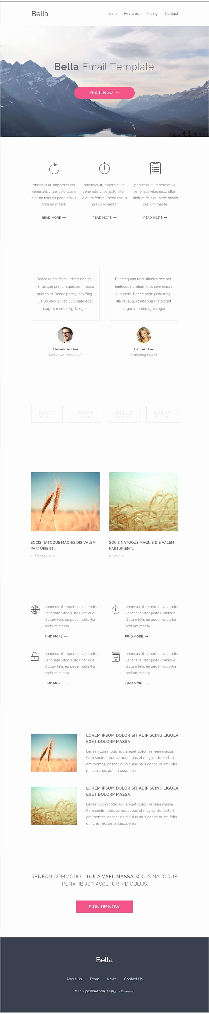 Free Email Template Psd Luxury Free Email Newsletter Templates Psd Css Author