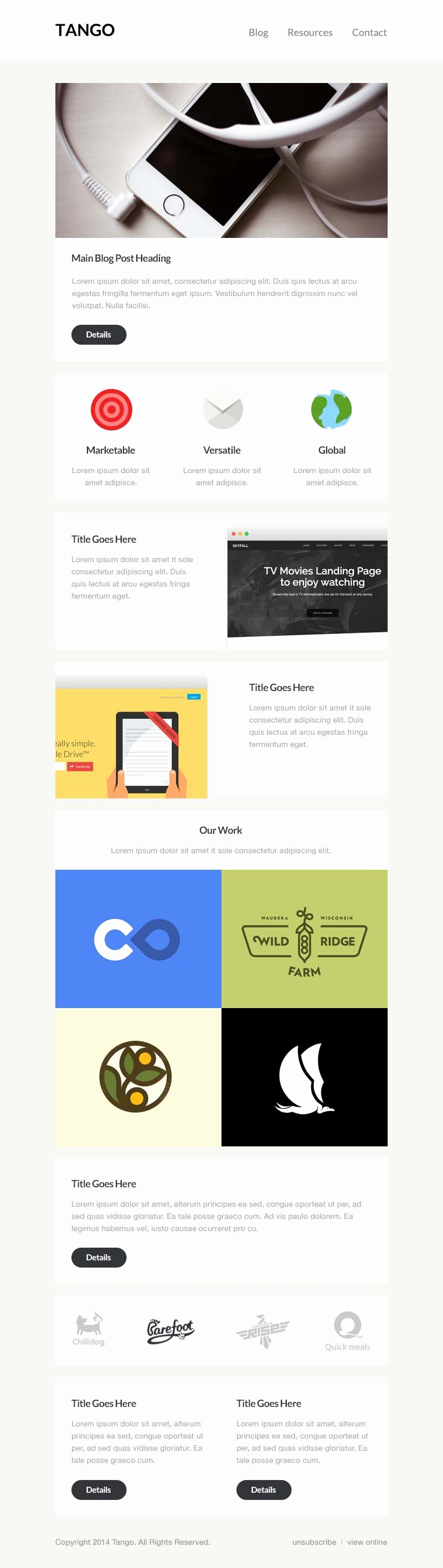 Free Email Template Psd New Free Email Psd Template