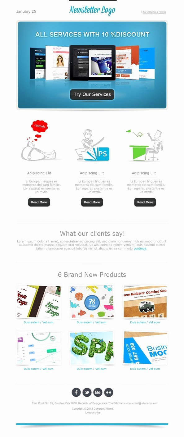 Free Email Template Psd New Simple Email Template Free Mail Templates