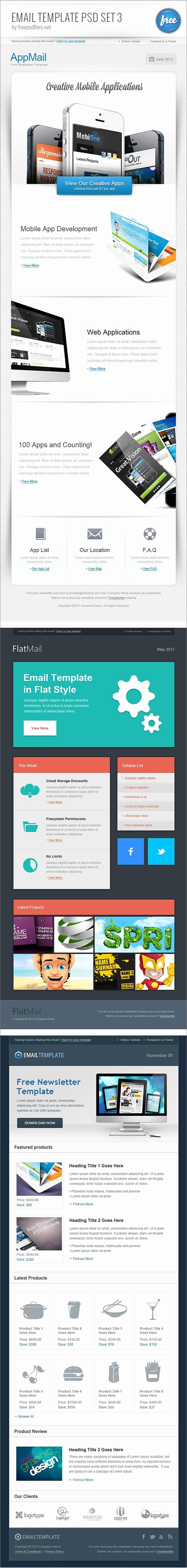 Free Email Template Psd Unique Free Email Newsletter Templates Psd Css Author