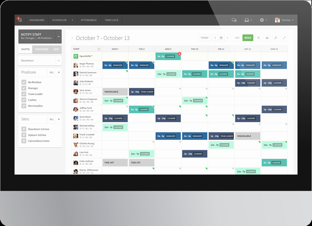 Free Employee Scheduling Template Beautiful when I Work Review – 2019 Pricing Features Short Ings