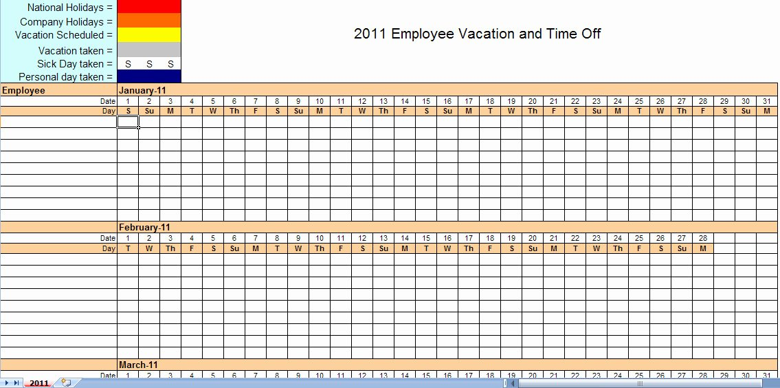 Free Employee Scheduling Template Inspirational Monthly Employee Schedule Template Excel