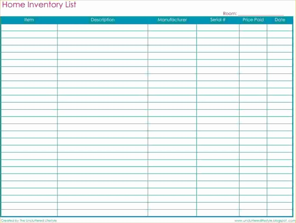 Free Excel Inventory Template Beautiful Free Inventory Spreadsheet Template Spreadsheet Templates