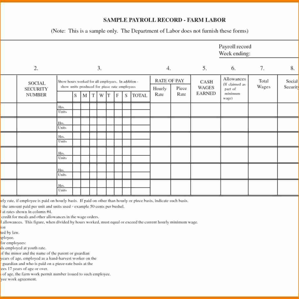 Free Excel Payroll Template Best Of 11 Payroll Excel Sheet Free