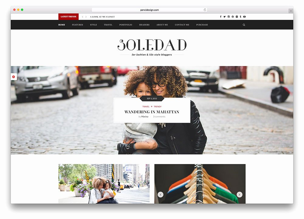 Free Fashion Blogger Template Awesome 43 Best Fashion Blog & Magazine Wordpress themes 2018