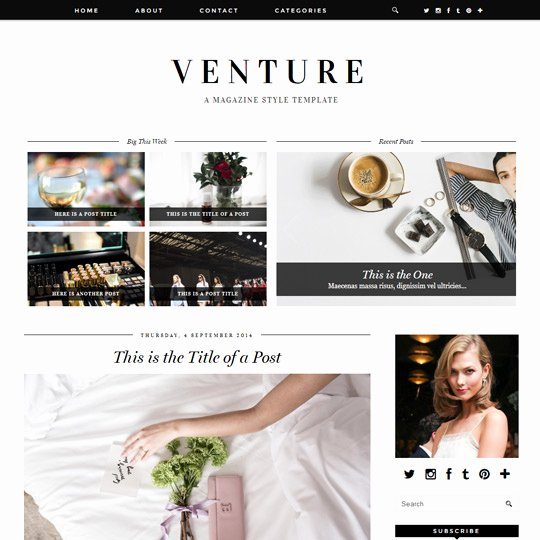 Free Fashion Blogger Template Awesome Pipdig Pro Blogger Templates & Wordpress themes for Your