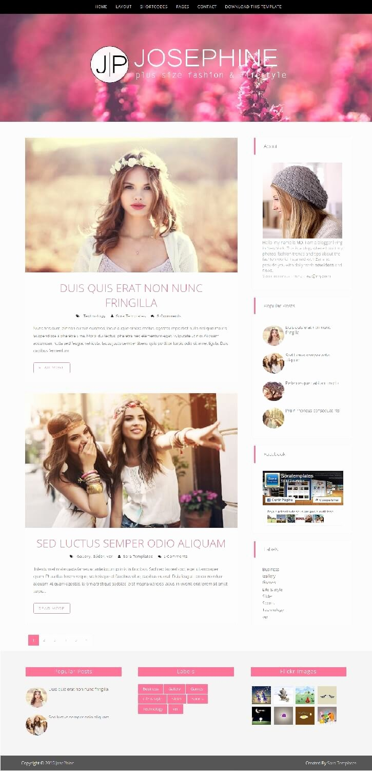 Free Fashion Blogger Template Beautiful 50 Free Fashion Blogger Templates for Fashion Blogs