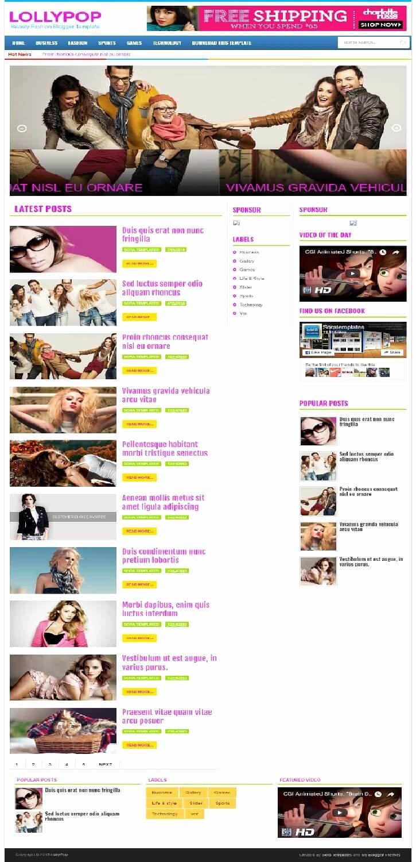 Free Fashion Blogger Template Elegant 50 Free Fashion Blogger Templates for Fashion Blogs