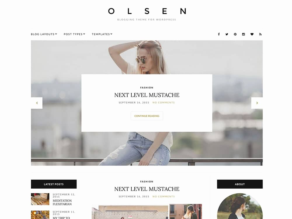 Free Fashion Blogger Template Fresh 30 Best Fashion Blog & Magazine Wordpress themes 2019