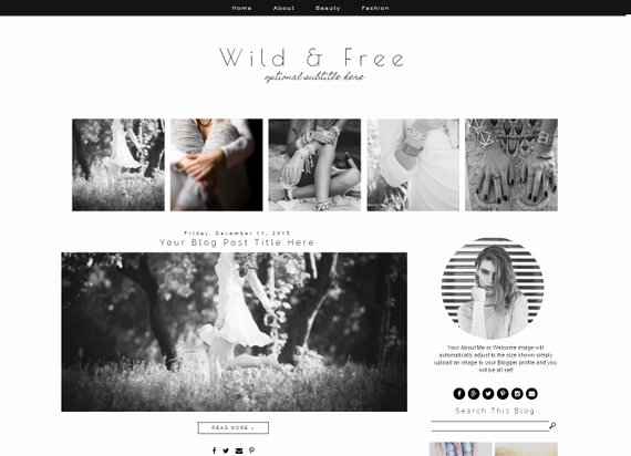 Free Fashion Blogger Template Inspirational Blogger Template Fashion Blog Template Blogger Template