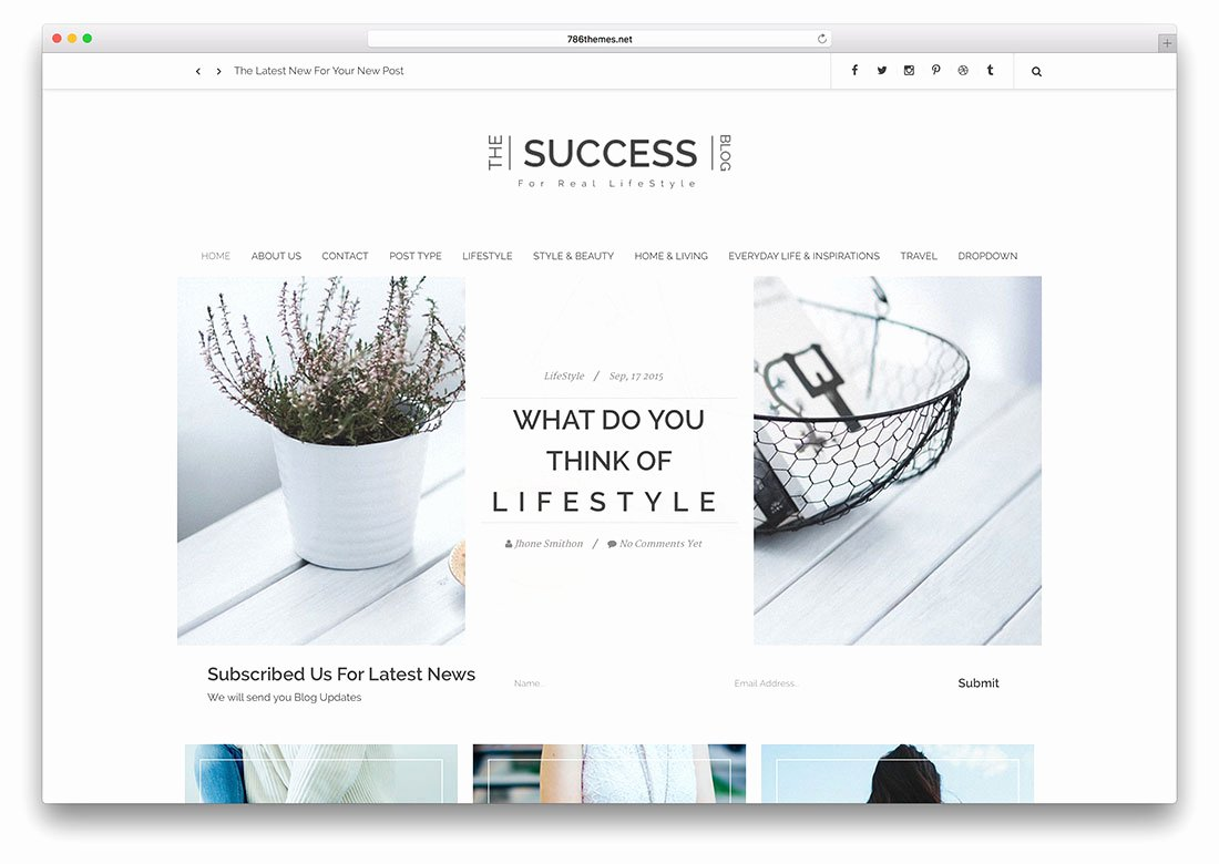 Free Fashion Blogger Template Lovely 22 Best Responsive HTML5 Css3 Blog Templates 2019 Colorlib