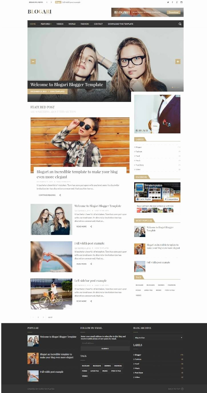 Free Fashion Blogger Template Lovely 50 Free Fashion Blogger Templates for Fashion Blogs