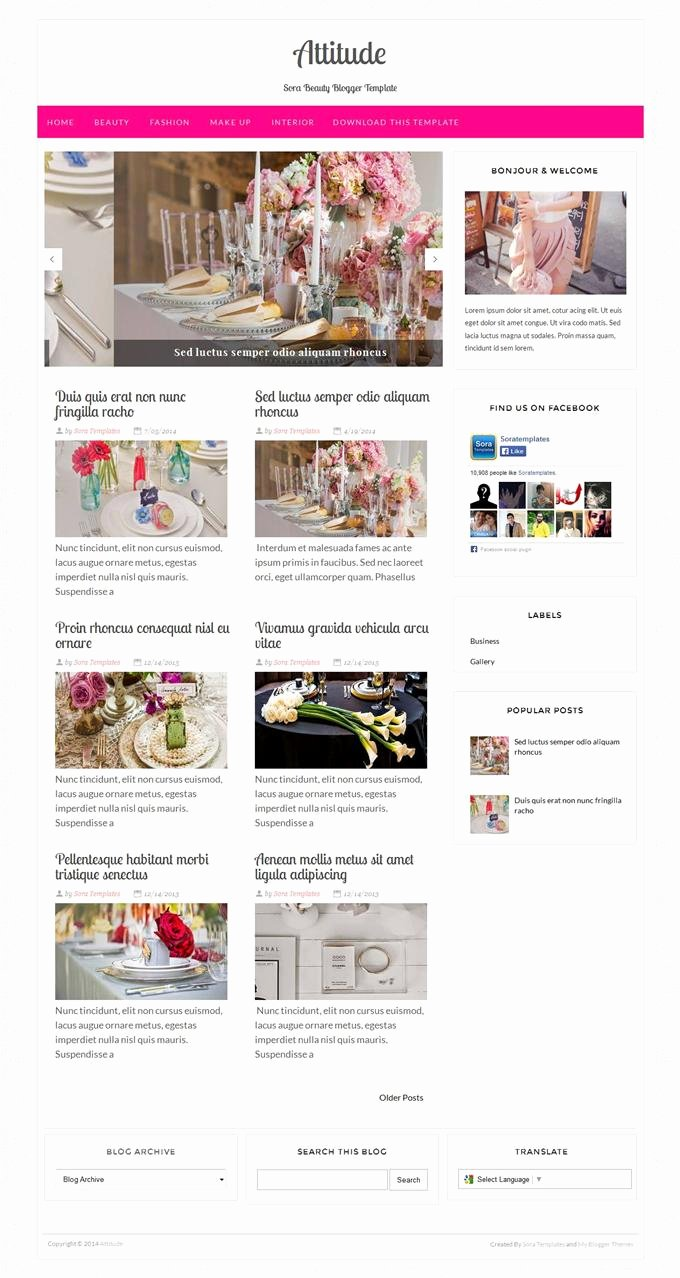 Free Fashion Blogger Template New 45 Free Fashion Responsive Blogger Templates Techclient