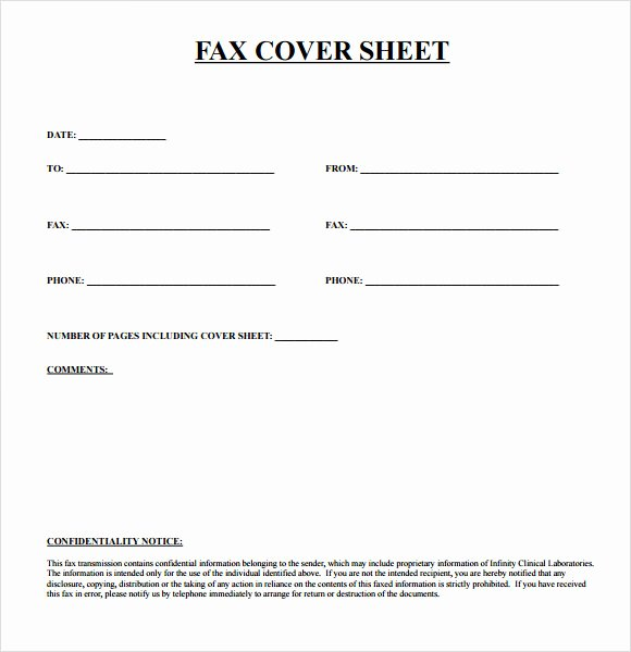 Free Fax Cover Page Template Lovely 8 Sample Urgent Fax Cover Sheets