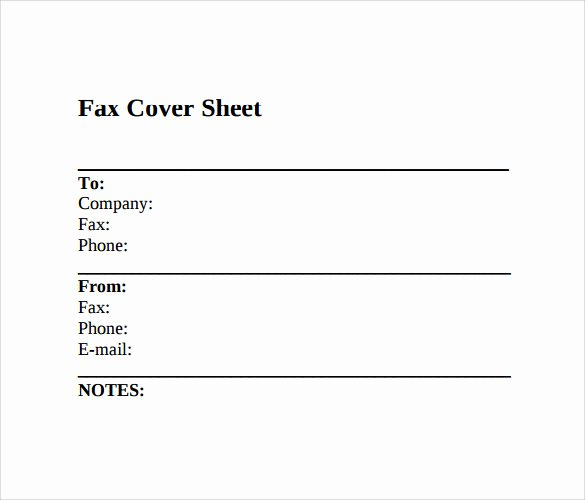 Free Fax Cover Page Template New 11 Sample Fax Cover Sheets