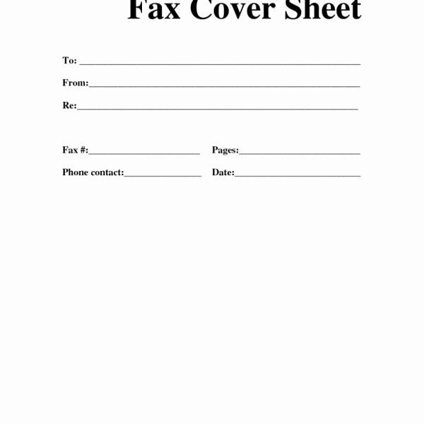 Free Fax Cover Page Template New Free Fax Cover Sheet Template Templates Data