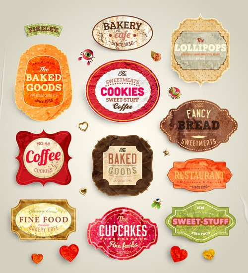 Free Food Label Template Luxury Food Label Template Free Vector 28 158 Free
