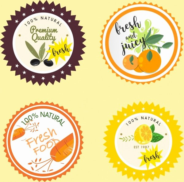 Free Food Label Template New Food Label Template Free Vector 28 158 Free