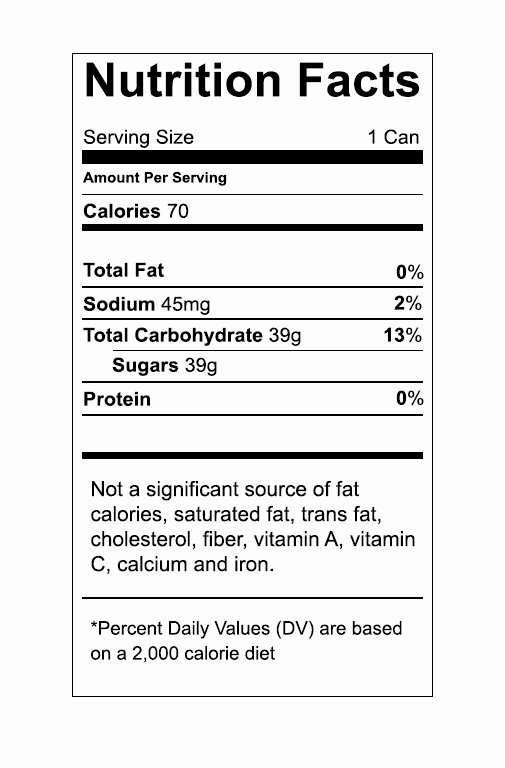 Free Food Label Template Unique Vector Food Nutrition Label – Trashedgraphics