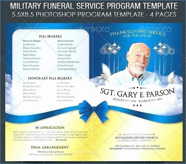 Free Funeral Brochure Template Best Of Funeral Pamphlet Template Word Free – Shootfrank